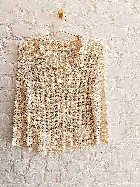 [Pre-loved] DVF Diane von Furstenberg Crochet Cardigan