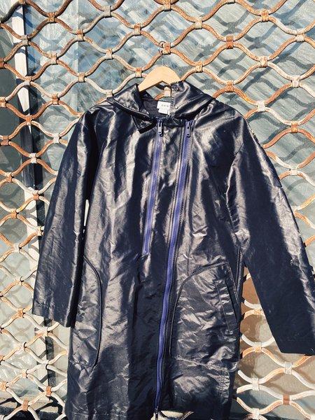 [Pre-Loved]  DKNY Black Raincoat,