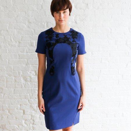 [Pre-Loved] Erdem Embroidered Midi Dress