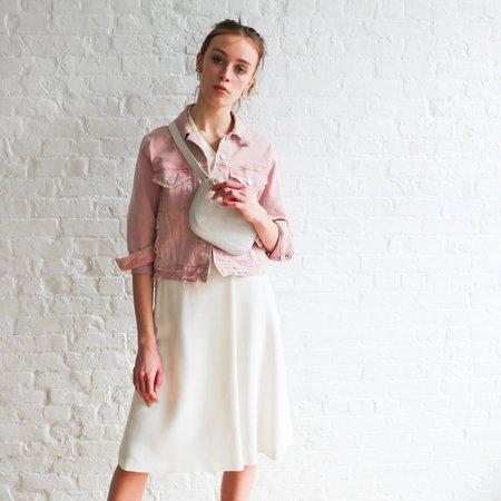[Pre-loved] Escada Foldover Midi Skirt