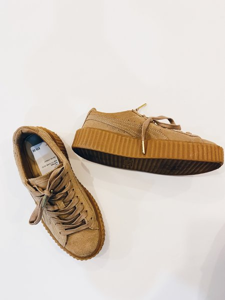[Pre-loved] Fenty Puma Fenty x Puma Suede Creeper Sneakers
