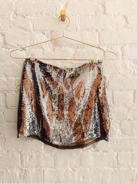 [Pre-loved] Haute Hippie Sequin Mini Skirt