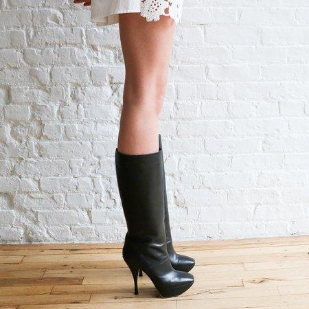 [Pre-loved] Marni Platform Boots - Black