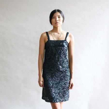 [pre-loved] Roberta Freymann Hailey Sequin Mini Dress - black