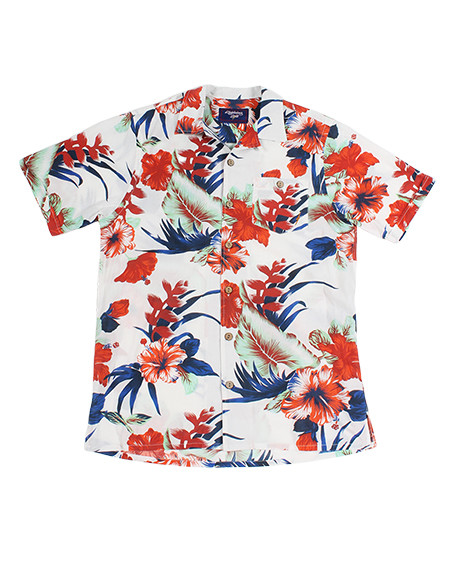 LIGHTNING BOLT - PARADISE FLOWERS SHORT-SLEEVE SHIRT