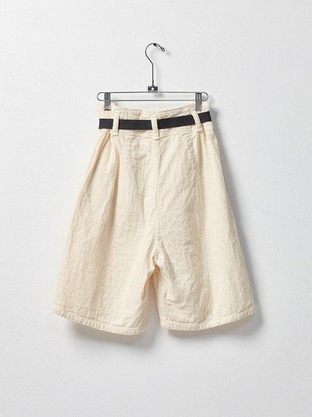 Atelier Delphine Robbie shorts - kinari white