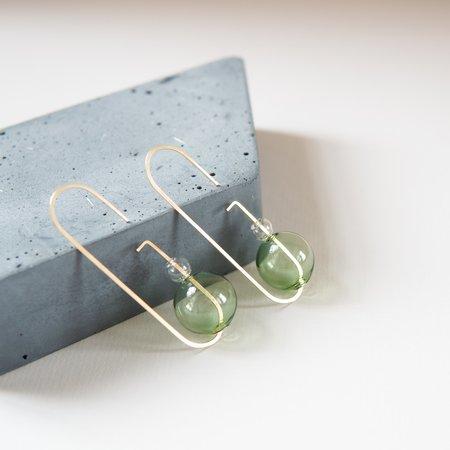 HyWorks Loop Earrings No. 2 - Bronze