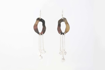Chertova Penny Lane Earrings with Pearls - Sterling Silver