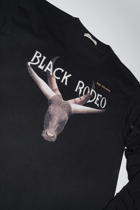 SOJI SOLARIN BLACK RODEO LONG SLEEVE
