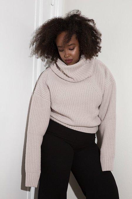 signe Artemis Turtleneck Sweater - pink