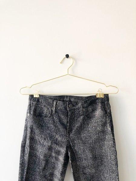 [pre-loved] Helmut Lang Printed Pants - black/white
