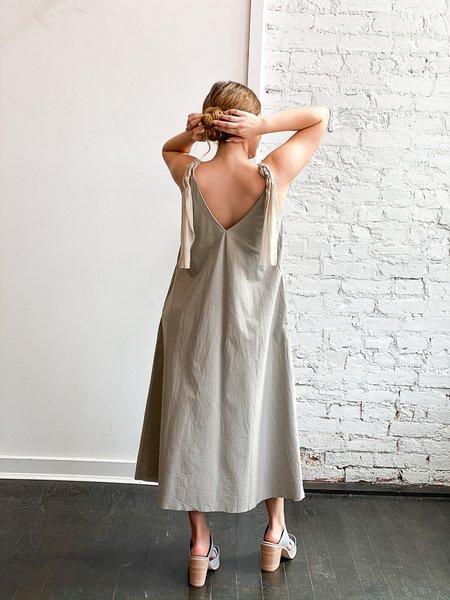 Elsa Esturgerie Couture Dress - Light Grey