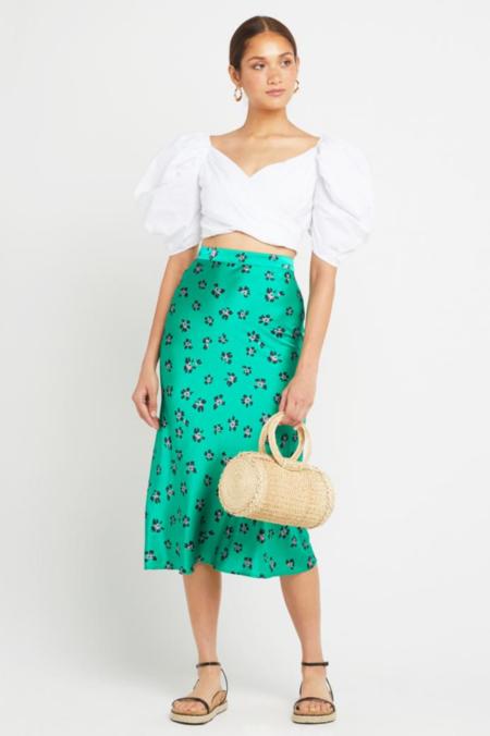 KOURT Shelia Skirt - green/black/pink