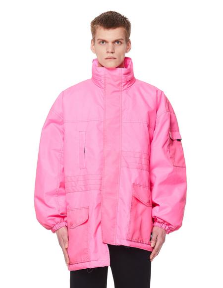 Balenciaga Pulled Parka - Neon Pink
