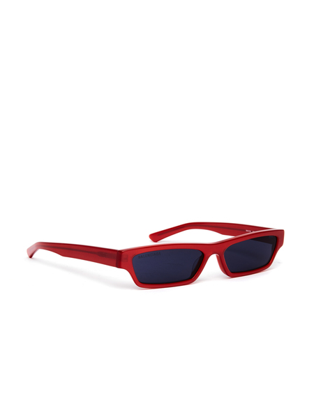 Balenciaga Narrow Sunglasses - Red