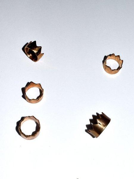 Lili T. California Crown Rings - Bronze