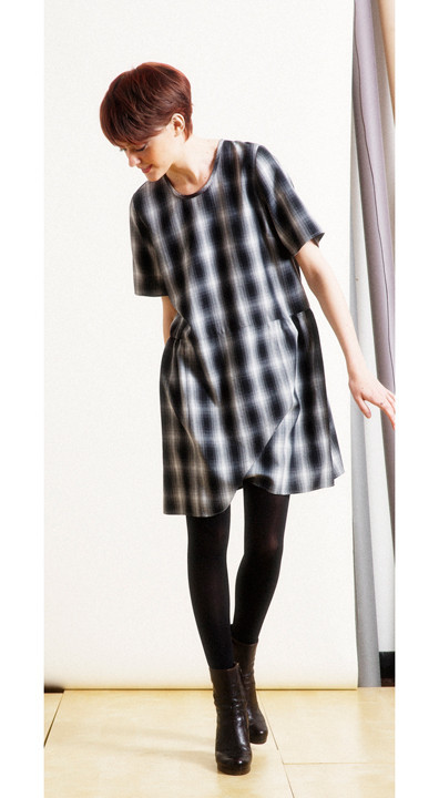 LOUP - SARGE DRESS - PLAID