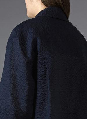 GREI. BOX SHIRT - MIDNIGHT BLUE