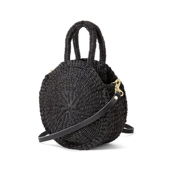 Clare V. Woven Alice Circle Bag