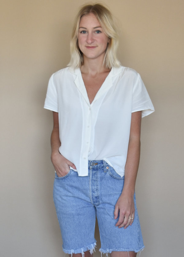 Local Shade Margot Top - Panna Cotta