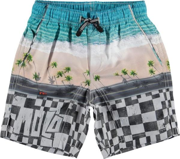 Kids molo nario swim shorts - playa