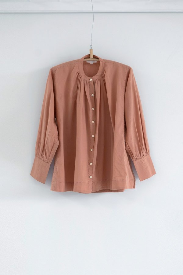 Karu The Potter's Blouse - Pink Clay