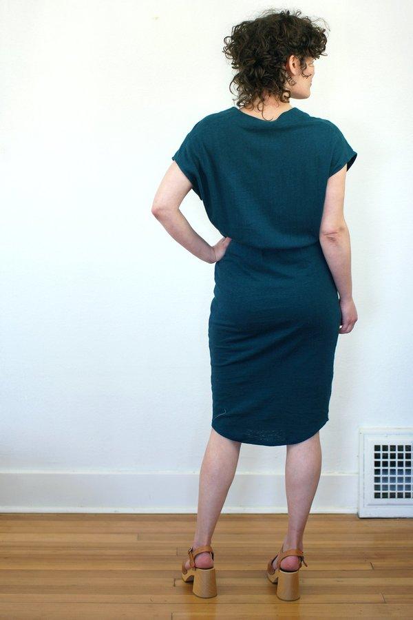 COKLUCH Vervet Dress - Teal