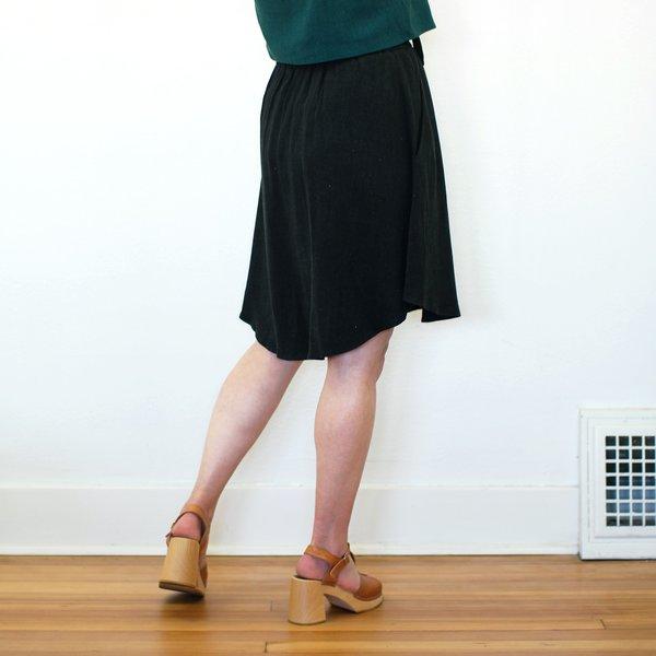 COKLUCH Zebra Skirt - Black