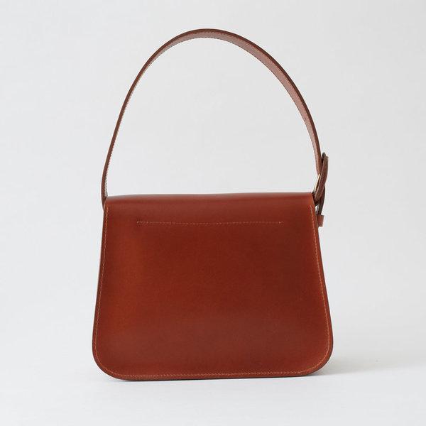 Crescioni estel bag - saddle brown