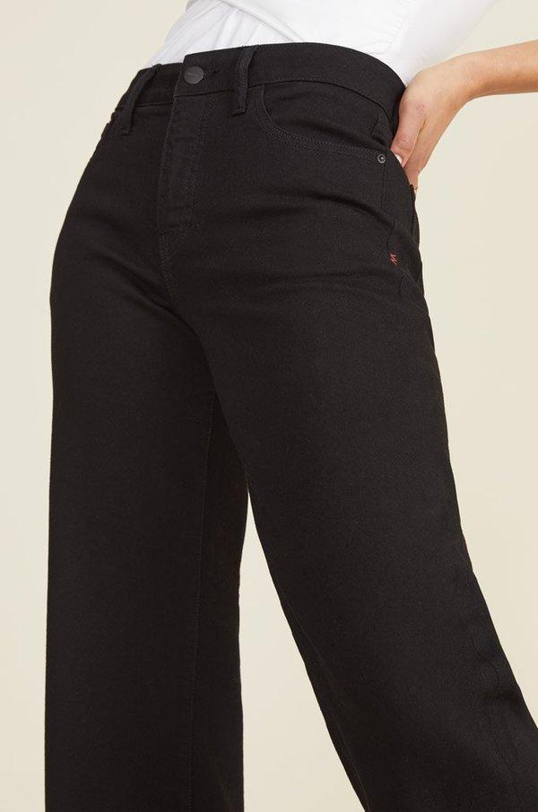 Warp + Weft ICN Wide leg Jean - Black