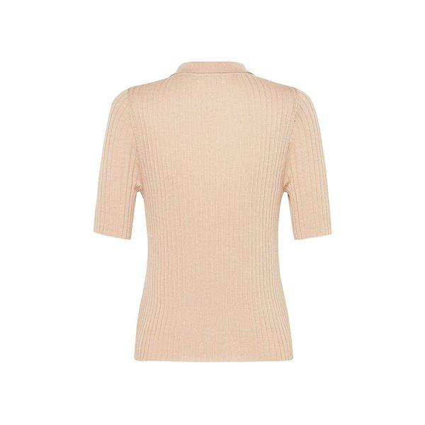 St. Agni Arlo Knit Shirt - Sand