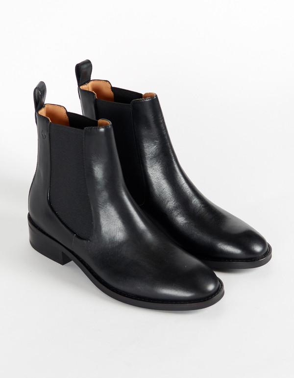 Vagabond Ava Chelsea Boot - Black | Garmentory