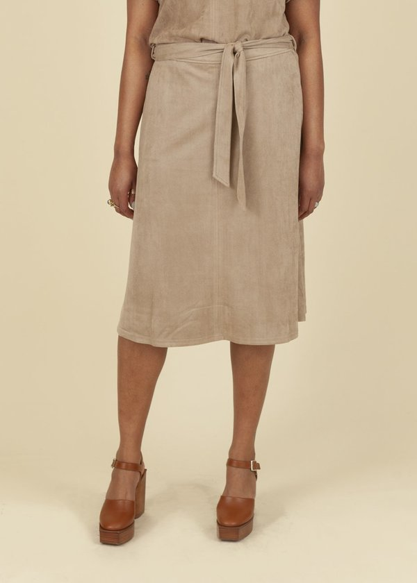 Summum Woman Suedine Stretch Skirt