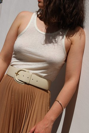 Shaina Mote aster skirt - camel