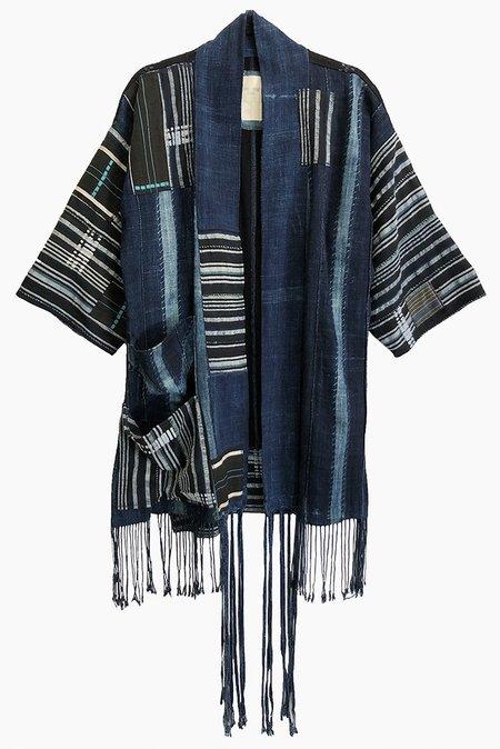 PARKER + SIMONNE DESIGNS Handmade Mudcloth Kimono - Style A