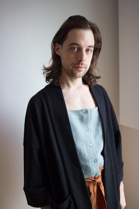 Odeyalo Bloom Kimono - Textured Black