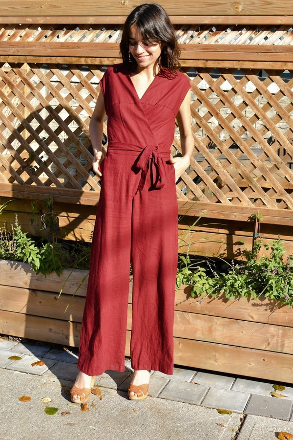 Dagg & Stacey Cicely Jumpsuit - Rosewood