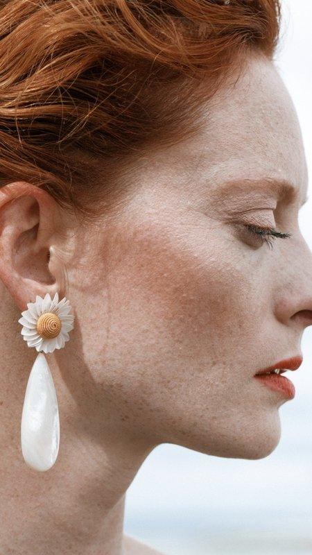 Lizzie Fortunato Fresh Cut Daisy Earrings