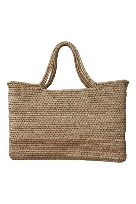 MEXICO SEEKER HAND WOVEN SMALL STRAW TOTE