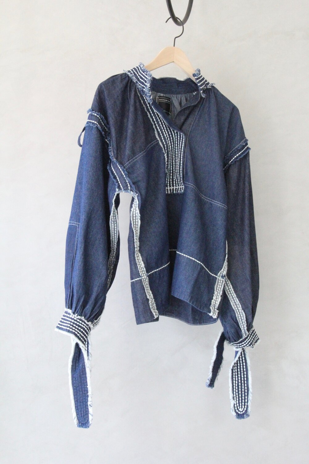 Untitled Co Limi Top Indigo Garmentory