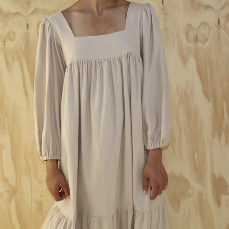 Lindsay Robinson Tia Dress - Sand Silk
