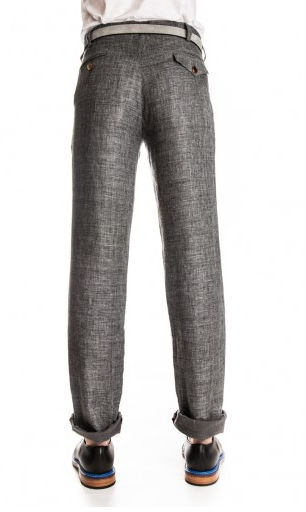 OLIVER SPENCER - PLEAT TROUSER