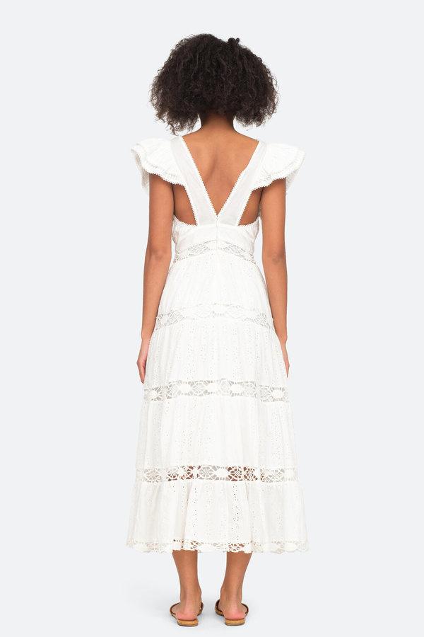 SEA New York Daisy Smocked Dress