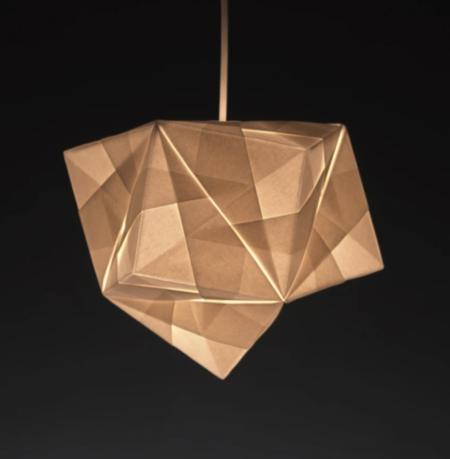 Foldability maya pendant lamp