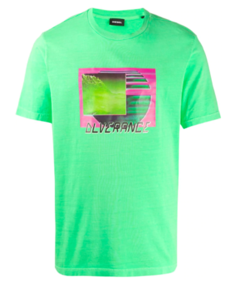 DIESEL Just Neon S1 Tee - Green