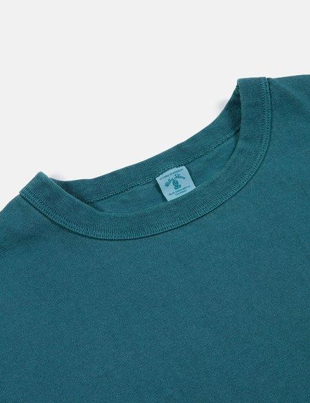 Velva Sheen x Article Pigment Dyed Pocket T Shirt - Bottle Green