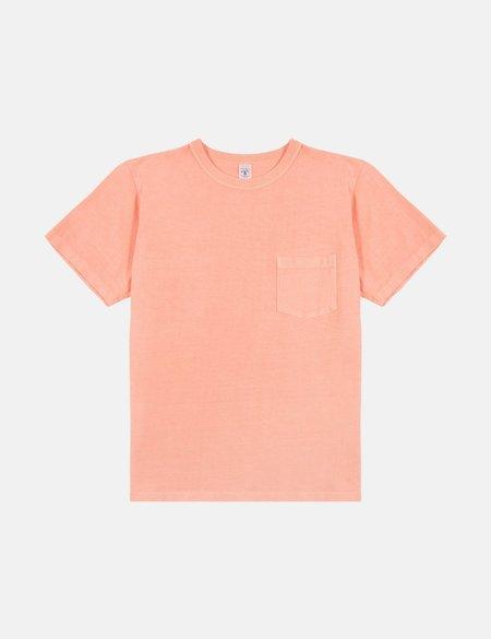 Velva Sheen x Article Pigment Dyed Pocket T-Shirt - Mustard