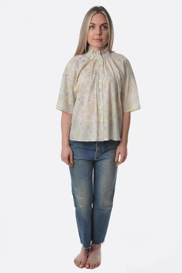 Nicholson and Nicholson Shirt - Yellow Summer Sky