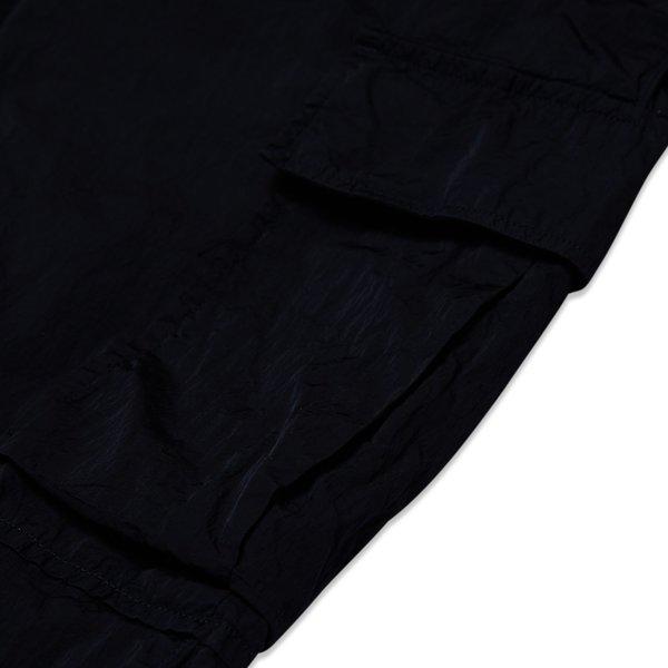 PRESIDENTS TROUSER TRAEGO JAPAN CRACKED NYLON - BLACK