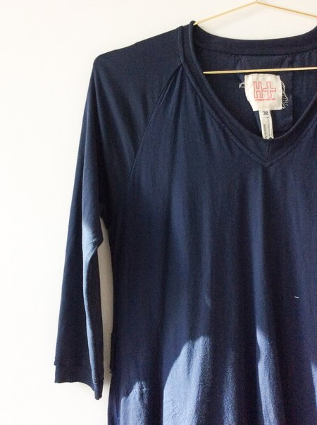 [PRE LOVED] Hannoh Cotton Blend Dress - Navy